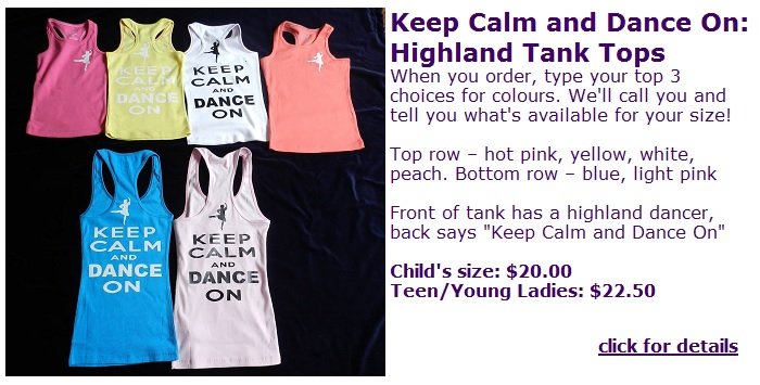keep calm and dance on tank tops