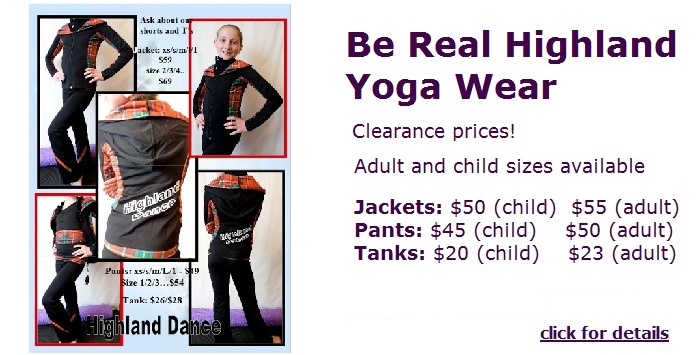 highland yoga wear
